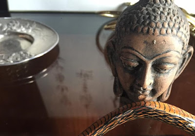 Image: Buddha and Snake