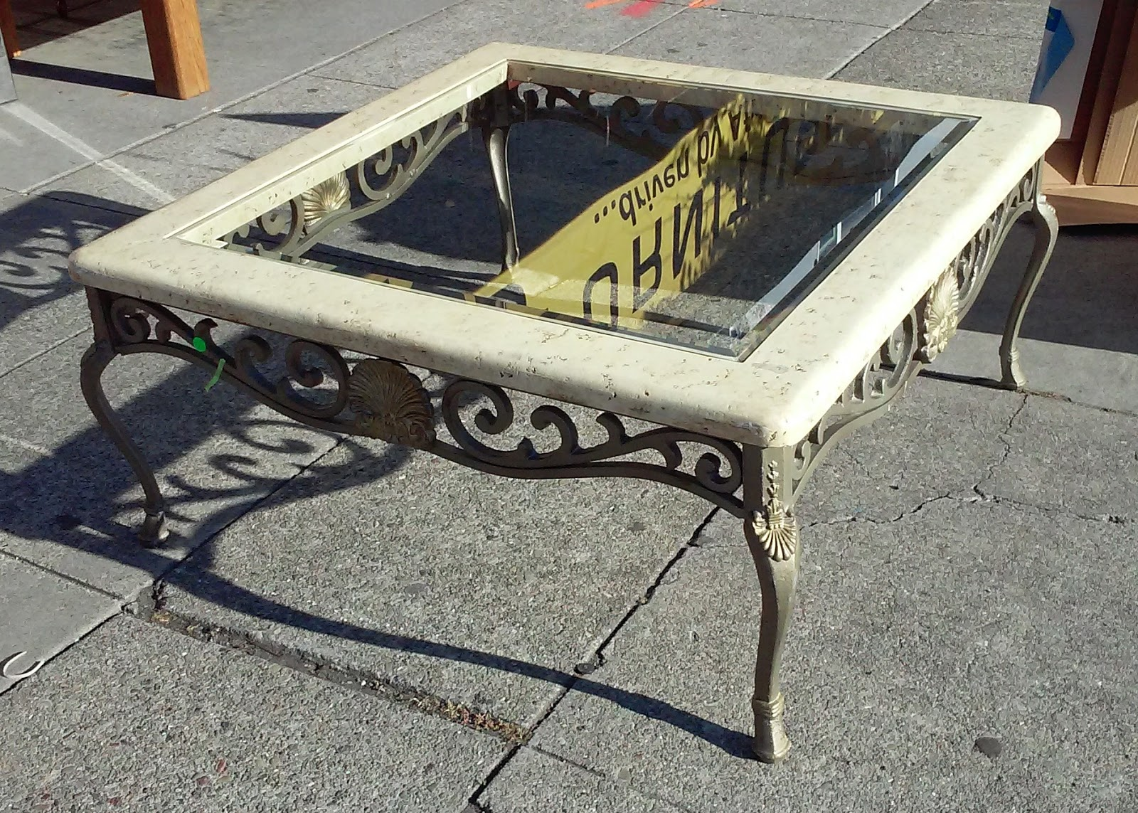uhuru furniture collectibles sold 39 square iron and
