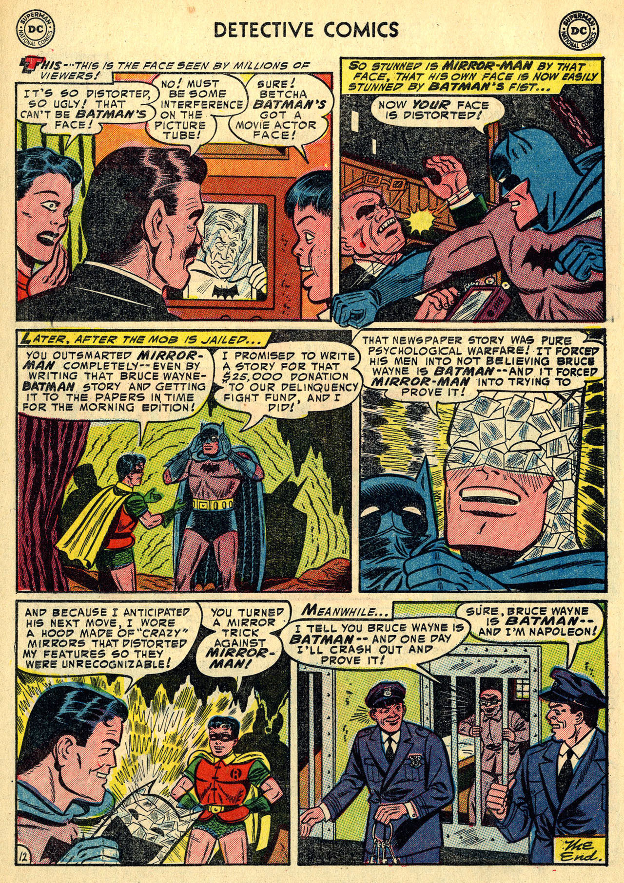 Read online Detective Comics (1937) comic -  Issue #213 - 14