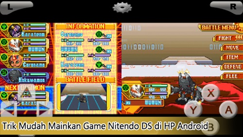 trik mudah main game nitendo DS