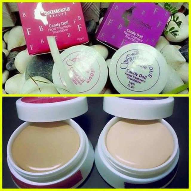 foundation all in one, candy doll foundation, foundation fantabulous beaute