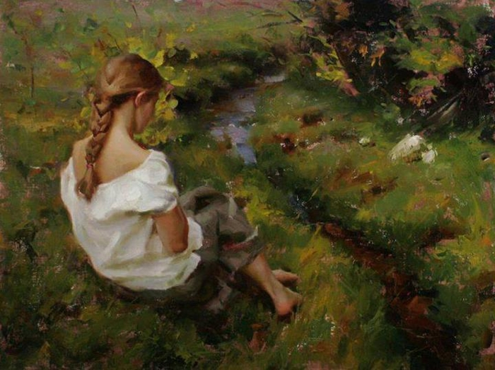 Michael Malm 1972 | American Figurative painter