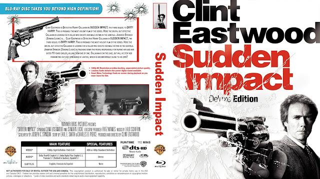 Sudden Impact Bluray Cover