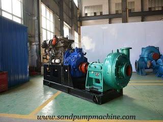 horizontal sand pump