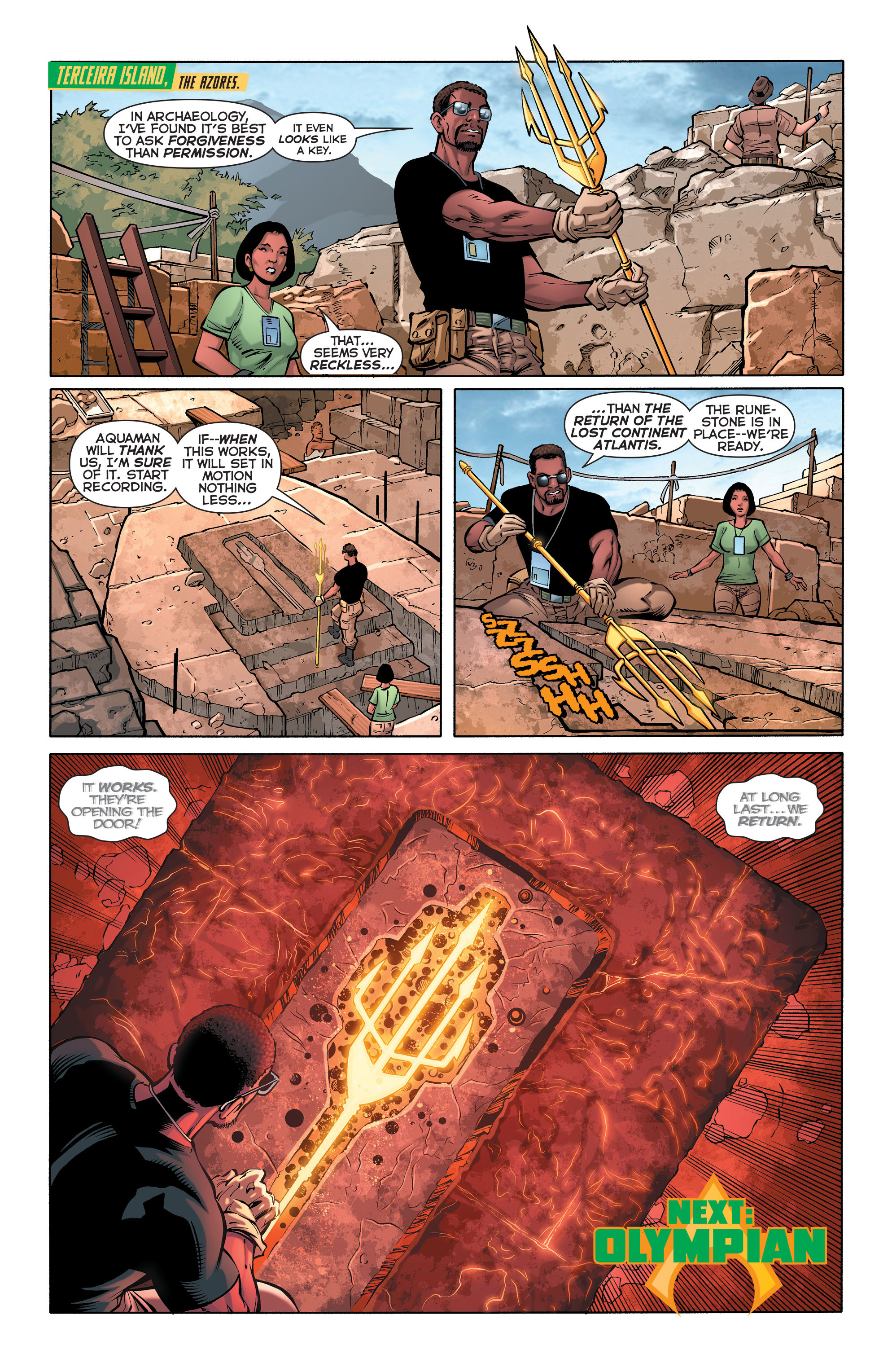 Read online Aquaman (2011) comic -  Issue #28 - 22