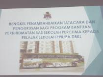 Program Bas Sekolah Percuma Untuk PPR dan PA DBKL