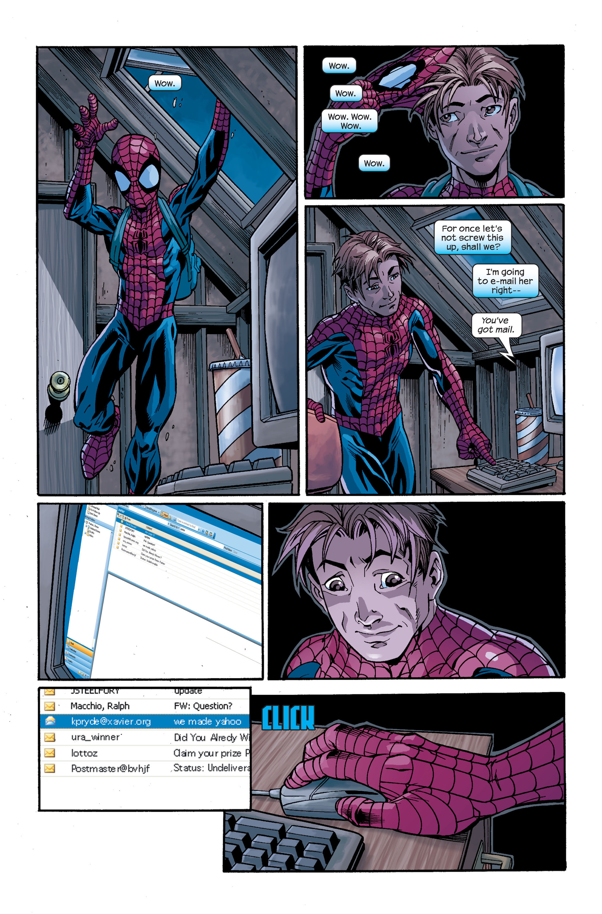 Read online Ultimate Spider-Man (2000) comic -  Issue # Annual 1 - 34