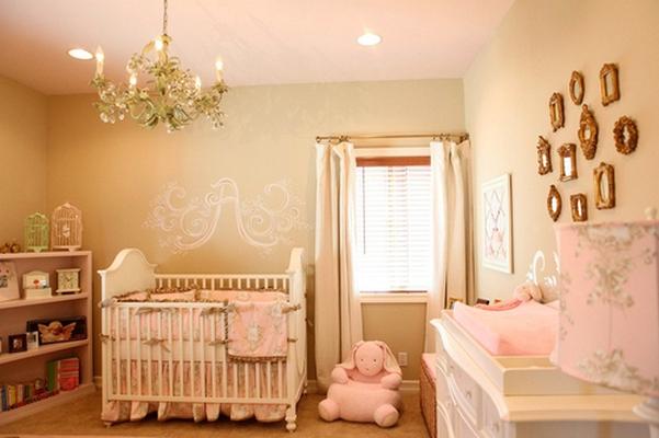 quarto bebe rosa