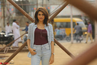 Shraddha Das in a Lovely Brown Top and Denim jeans ~ Exclusive Unseen Beauty HD Pics 007.JPG
