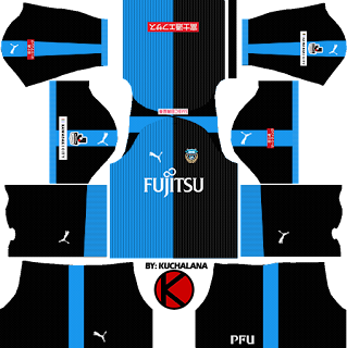 Kawasaki Frontale 川崎フロンターレ kits 2018 - Dream League Soccer