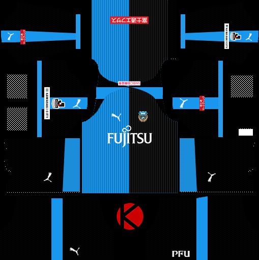 Kawasaki Frontale 川崎フロンターレ kits 2018 - Dream League Soccer Kits