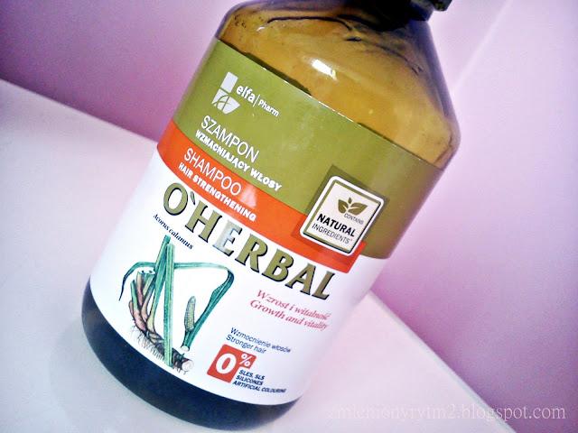 Szampon wzmacniający włosy | O'Herbal