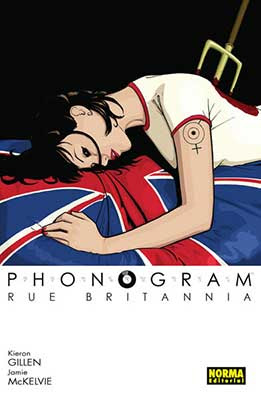Phonogram 1. Rue Britannia / cómic europeo