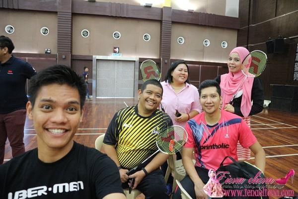 3M dan 11street Menganjurkan Klinik Badminton Bersama Rumah Kebajikan Sempena Pelancaran Minggu Minum Air Ke-3