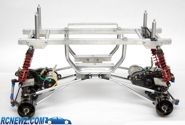 Tamiya Clod Buster ESP Clodzilla 2 race chassis