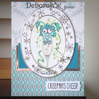 Creepmas Cheer sq - photo by Deborah Frings - Deborah's Gems