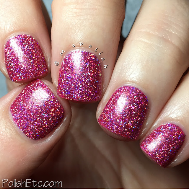 KBShimmer - Mega Flame Collection - McPolish - Ripe for the Pink-ing