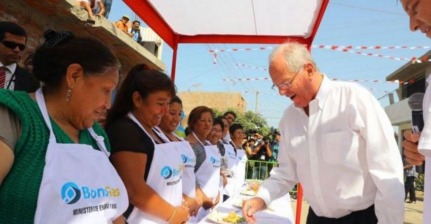 Presidente Kuczynski dará hoy inicio a masificación del gas natural en Cañete