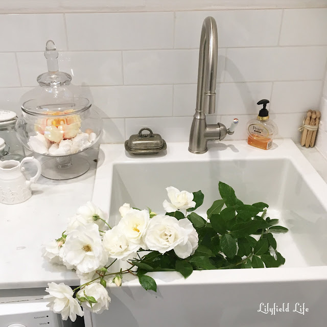 Ikea sink full of flowers Lilyfield Life