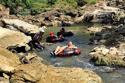 objek wisata di jogja-body rafting kali oyo