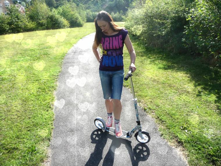 Adult Micro Floral White Scooter From Micro Scooters Review...