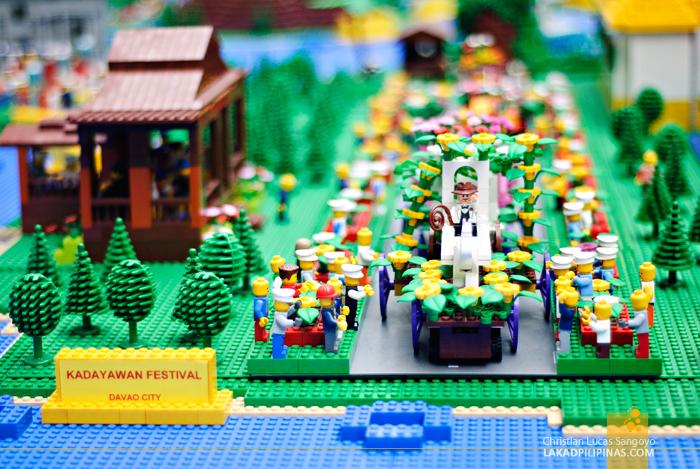 Lego Pilipinas Tara Na Exhibit Kadayawan