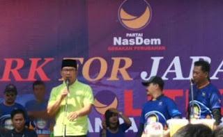 Ridwan Kamil Mulai Kampanye Pilgub Jabar di Tasikmalaya