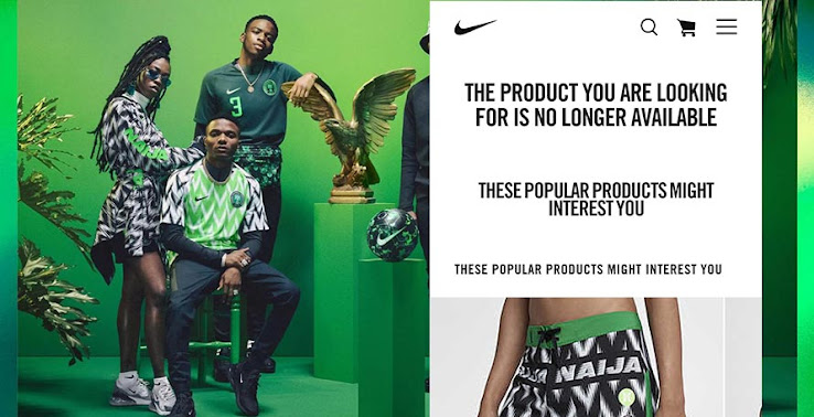 Already SOLD OUT  Nigeria 2018 World Cup Home   Away Kits Released ... e89ddcc03