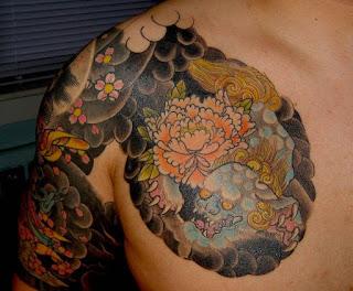 gambar tato anggota yakuza
