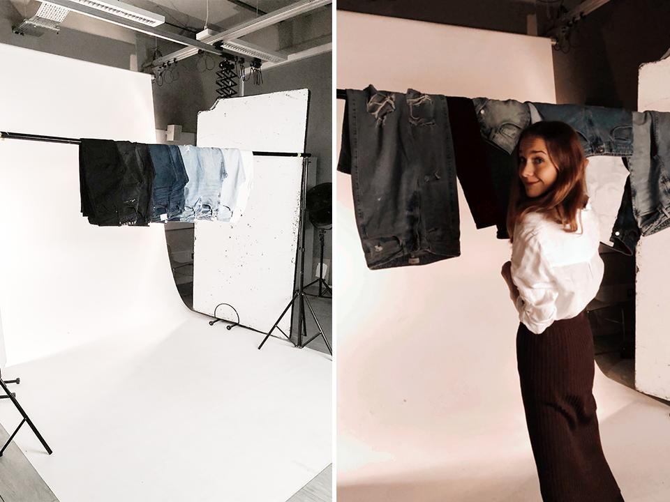 Denim studio shoot - Farkku studiokuvaus