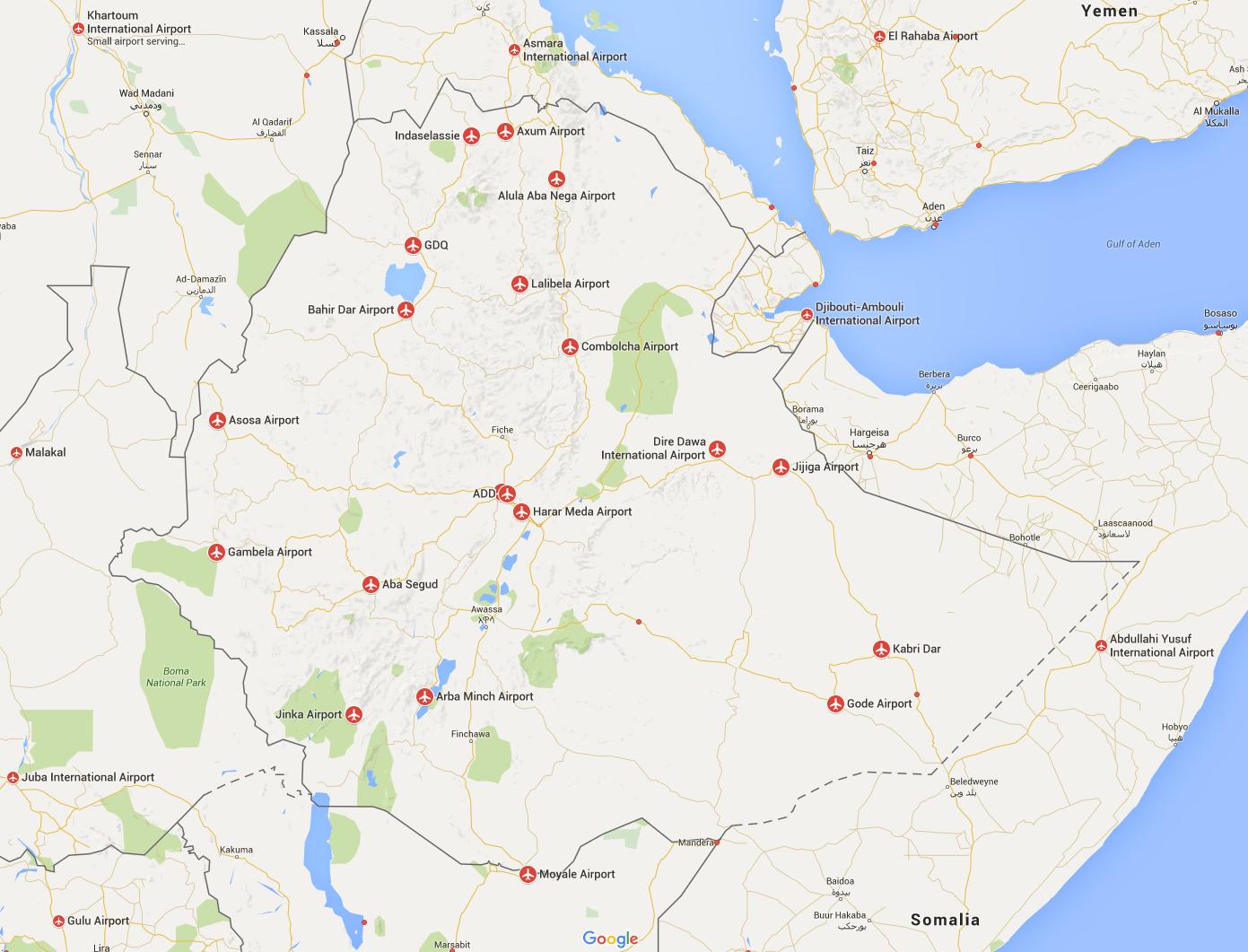 Airports Ethiopia