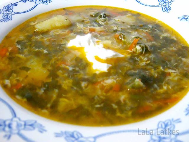 рецепт вкусного зеленого борща