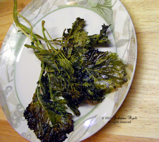 Roasted Organic Spring Rapini  or Broccoli Raab Recipe