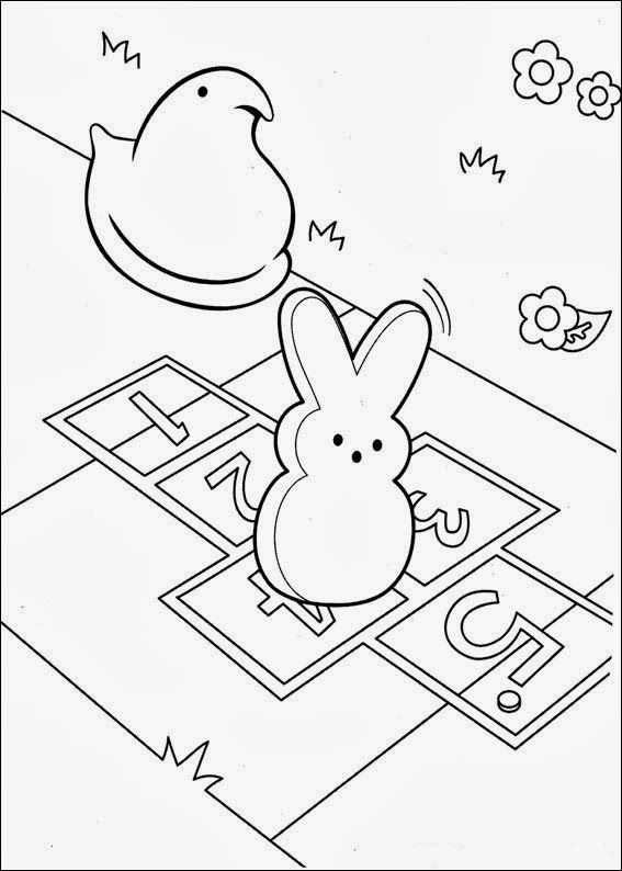 fun coloring pages marshmallow peeps coloring pages