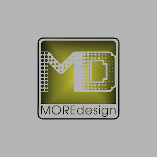 MD More Design Gradation Logo Template Free Download Vector CDR, AI, EPS and PNG Formats