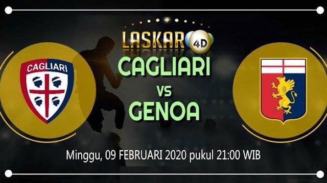 Prediksi Pertandingan Genoa vs Cagliari 9 Februari 2020