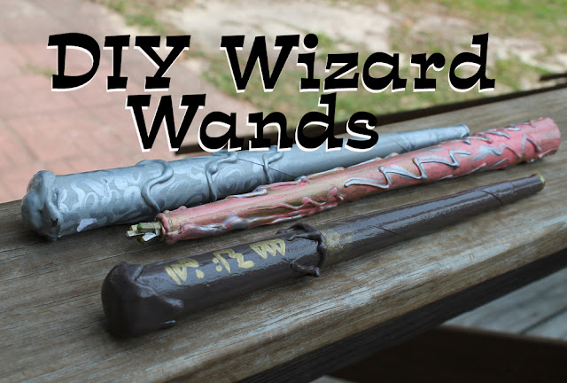http://www.doodlecraftblog.com/2012/07/harry-potter-magic-wands-diy.html