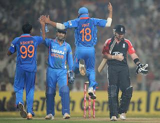 IND vs ENG at Kolkata – 5th ODI , 25th Oct – Highlights