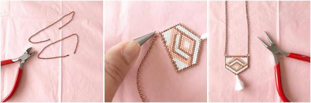 miyuki, DIY, Brick Stitch, aux petites folies, perles, perle des loisirs, bijoux