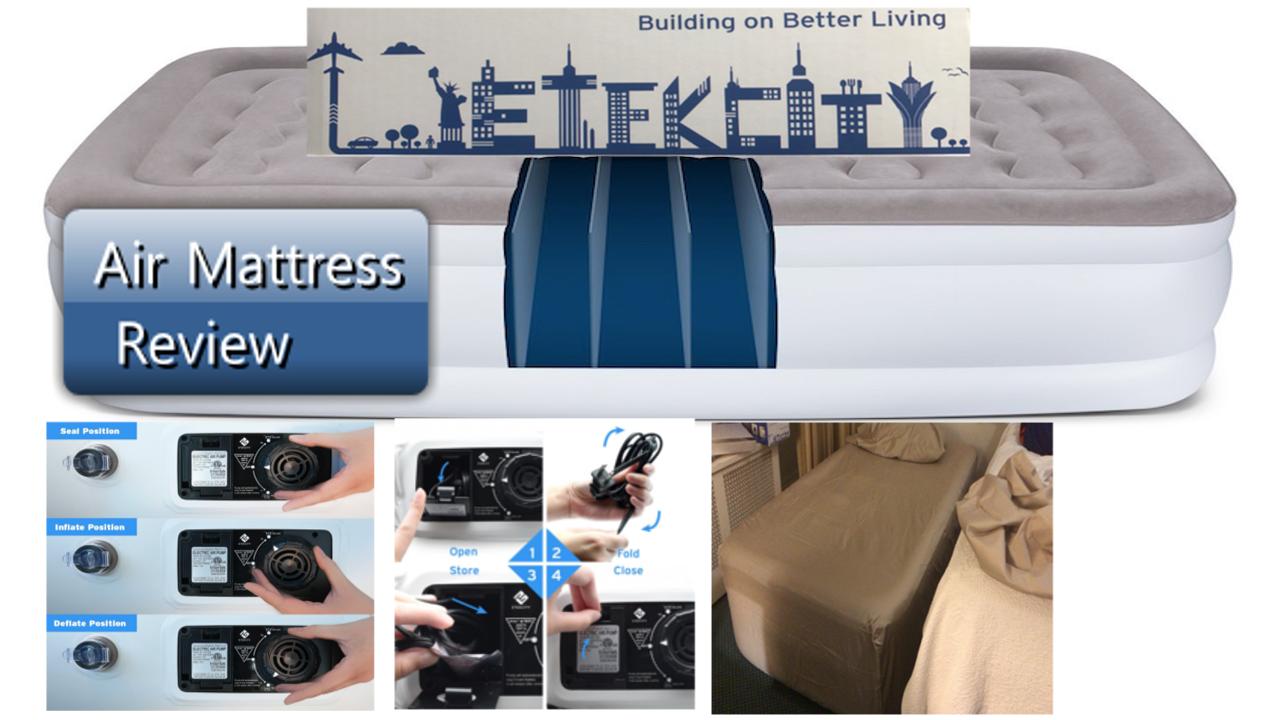 Heavy Duty Air Mattress >> Askuncledave Etekcity Raised Twin Air Mattress Eam Dt1 300
