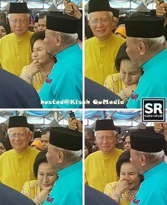 Rosmah Bersandar Manja Di Dada Sultan Pahang?