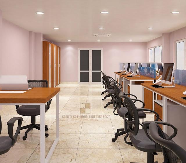Ghế văn phòng cao cấp với kết cấu chân xoay ấn tượng tạo sự di chuyển linh hoạt thoải mái, dễ chịu cho người dùng