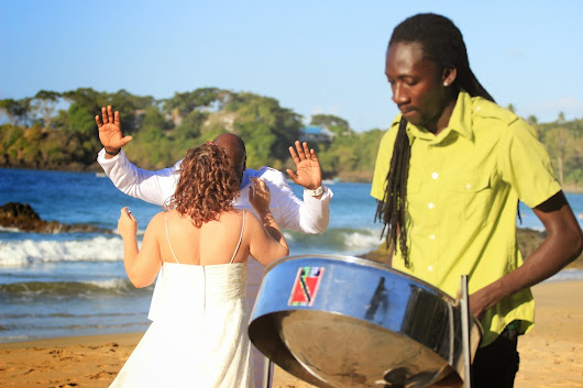 Destination Beach Weddings in Tobago Ron & Heather