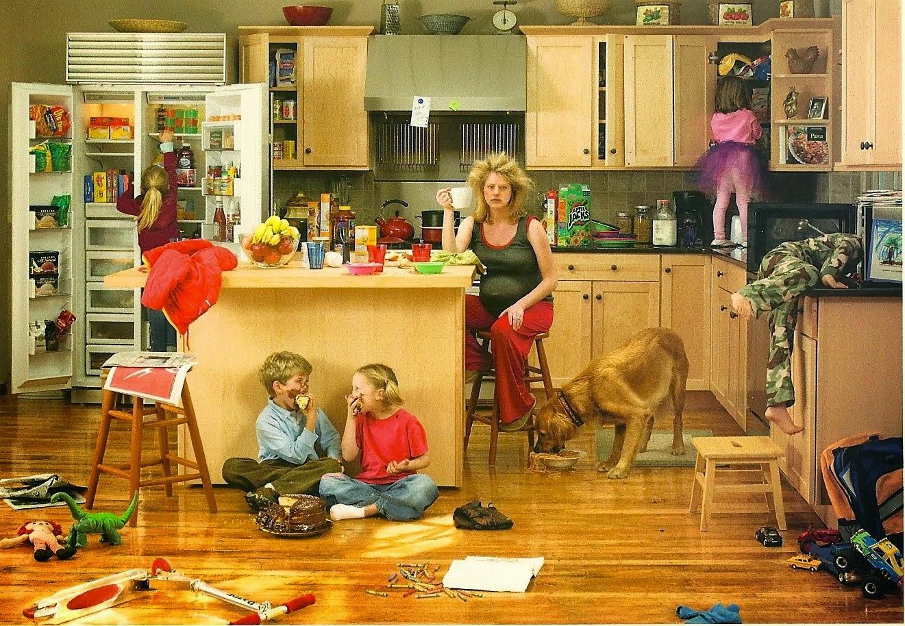 Casa desordenadas por hijos