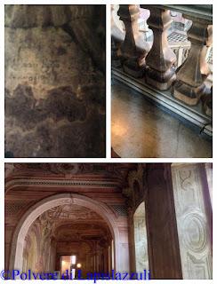 Particolari architettonici e affreschi
