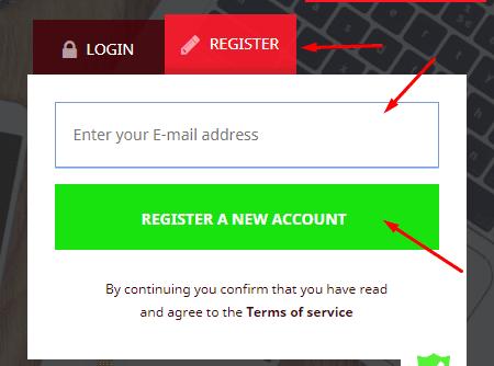 Регистрация в Carismo