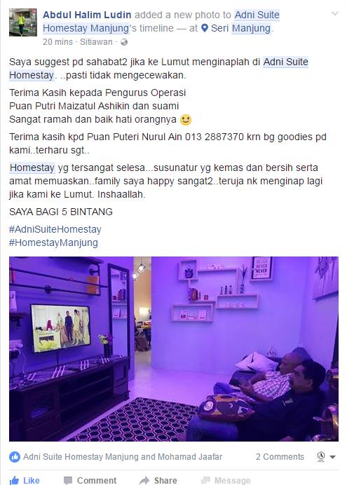 Adni Suite Homestay Seri Manjung Lumut | Review 2