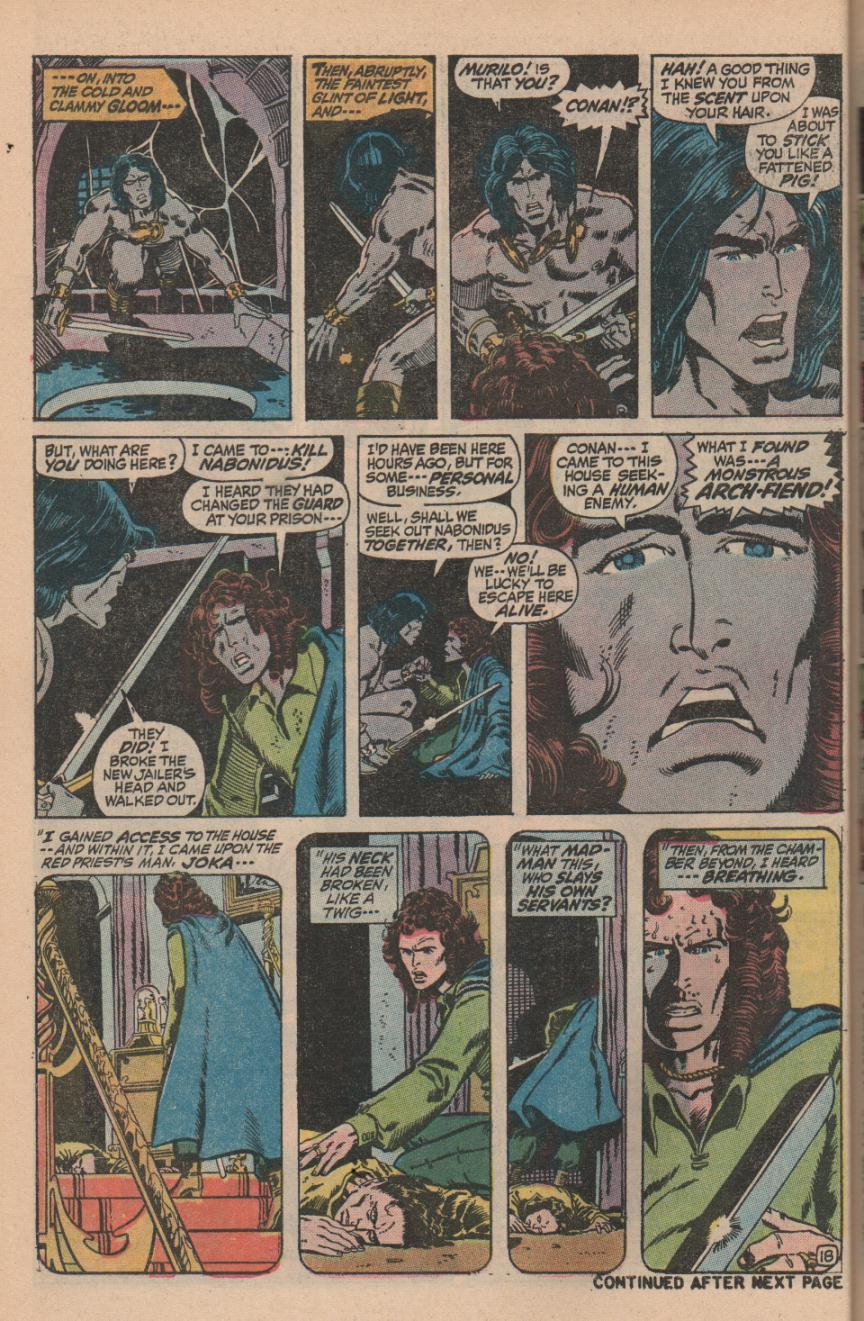 Conan the Barbarian (1970) Issue #11 #23 - English 24
