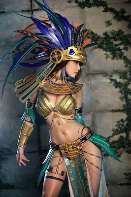 Sexy Aztec Princess