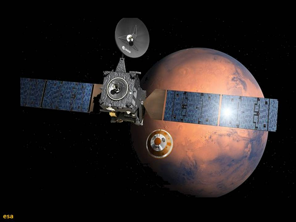 أخيراً العثور على مسبار المريخ الأوروبي المفقود شياباريلي !